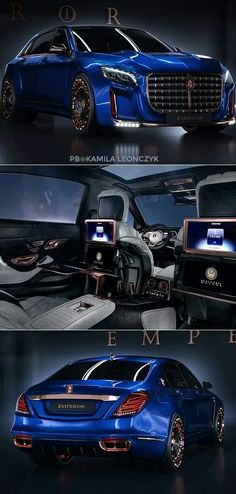Mercedes-Maybach S600 $1.5 Million The Scaldarsi Emperor I