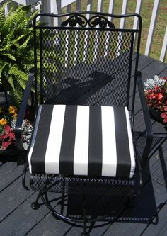 Indoor / Outdoor  Foam Universal Chair Seat by PillowsCushionsOhMy, $22.96