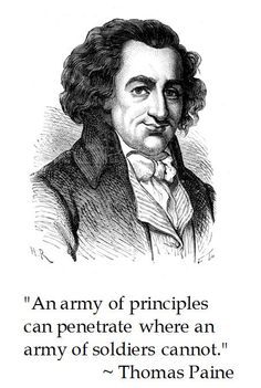 Thomas Paine on Principles