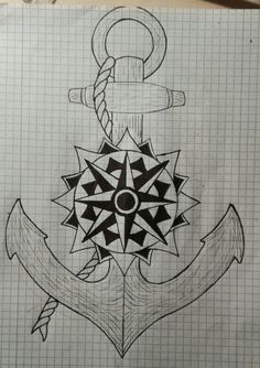 Anchor compass