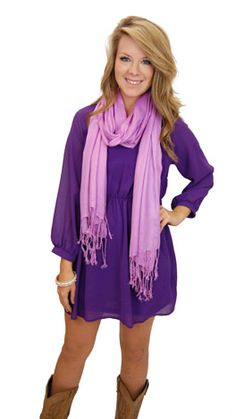 im so in love with this purple on purple <3 i need both of these in my life!