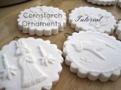 Cornstarch ornaments