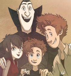 Hotel Transylvania << I haven't even seen this movie but this is cute ^_^