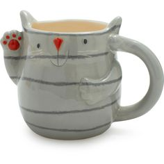 Cute cat mug, Jen this is SO your coffee mug :)