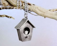 Lulu Bug Jewelry: ridiculous, really/bird house