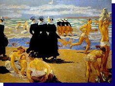 "Maurice Denis ~ ""Baignade"", 1905"