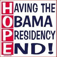 NOBAMA 2012: HOPE - Having the Obama Presidency End!