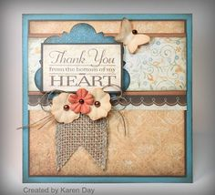 Karen Day is SO talented!  Love the combination of products on this card!  kdaycreations.blogspot.com