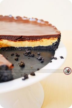 Chocolate peanut butter tart. I rest my case. Jess, this ones for you.