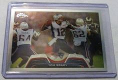 TOM BRADY 2013 TOPPS CHROME  #NewEnglandPatriots
