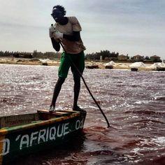 Senegal -Lake Retba