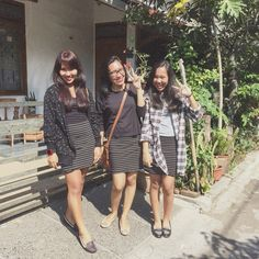 This is me and my sisters wear the same skirt when attended sunday service yyaayyy  Skirt by h&m