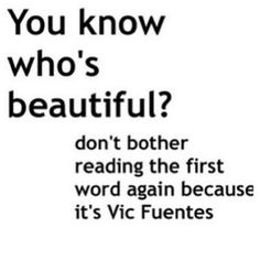 Hahahaha. Yes, yes it is. along with the rest of the band <3