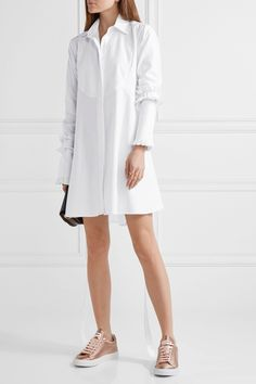 MAGGIE MARILYN Hold It Together herringbone cotton-jacquard dress $700.0