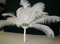 feather decorations for weddings | Assembling Ostrich Feather Centerpieces-Please print from this page ...