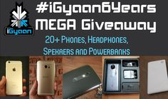 The Most Mega iGyaan 6 Year Anniversary Giveaway