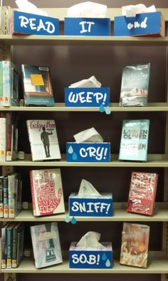 Read It and Weep! - Library Display