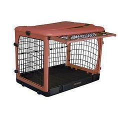 "Pet Gear Steel Dog Crate 42""L x 28""W x 31""H in 2 colors"