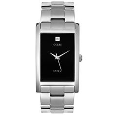 ca335159a8ce GUESS  Men s 95374G Stainless Steel Diamond Watch - From my Social Wish  List. http