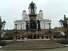 Helsinki Cathedral, Helsinki, Finland (February 2014)