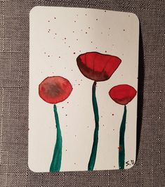 Watercolor Postcard, Poster, Cards, Painting, Etsy Shop, Poppies, Craft Gifts, Postcards, Handmade