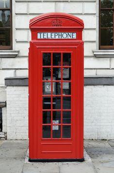 The red telephone box... would you believe I saw one right here in Tucson Arizona!! Fun!