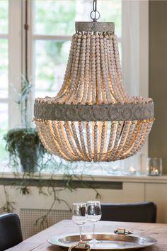 We waren spontaan verliefd op deze prachtige hanglamp! Het net-even-iets-anders…