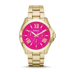 Fossil Cecile Multifunction Stainless Steel Watch – Gold-Tone