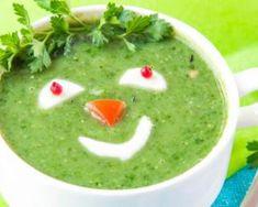 Soupe d'épinards à la crème pour enfants : http://www.fourchette-et-bikini.fr/recettes/recettes-minceur/soupe-depinards-la-creme-pour-enfants.html