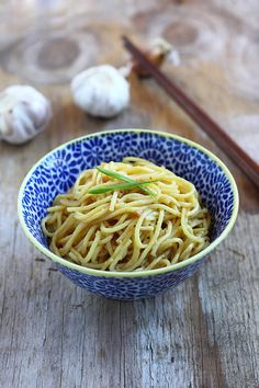 Garlic Noodles Recipe - I've made this numerous times and it's authentic and exceptional. AND EMBARRASSINGLY EASY.
