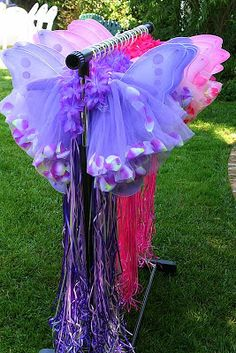 FLOWER HEADBAND, TUTUS AND WINGS Party Wishes: Tinkerbell Party