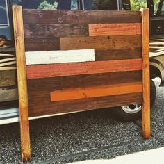 Looking to spice up your love life??? A RECLAIMED WOOD HEADBOARD is sure to do the trick! de sonsofsalvage