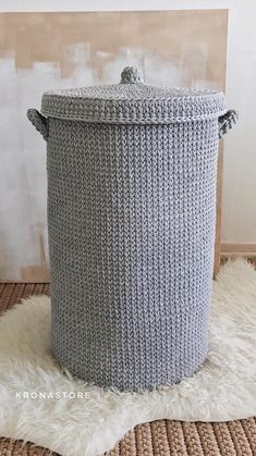 Amazing Crochet Baskets For Free Ideas 2019 – Page 22 of 35 – stunnerwoman. com Amazing Crochet Baskets For Free Ideas 2019 – Page 22 of 35 – stunnerwoman. Crochet Bracelet Pattern, Crochet Basket Pattern, Crochet Baskets, Crochet Gifts, Diy Crochet, Crochet Hooks, Simple Crochet, Large Laundry Basket, Crochet Storage