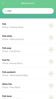 Fish Pie, Fish Soup, Fish Sandwich, Fish Sticks, Ux Design, Sandwiches, Paninis, Fish Chowder, Ui Design