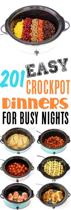 Crockpot Recipes Easy Cheap Dinner Ideas that are perfect for those busy weeknights! Add some to your menu this week and find some new family favorites!