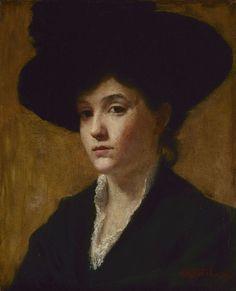 Susan Merrill Ketcham, Study of a Hat, 1889