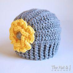 CROCHET PATTERN Très Chic crochet hat pattern with by TheHatandI