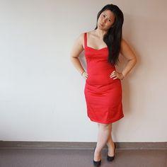 Sophie Bach: Fierce little red dress.
