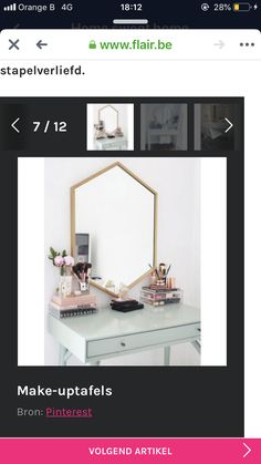 Oversized Mirror, Vanity, Bedroom, Furniture, Home Decor, Dressing Tables, Powder Room, Decoration Home, Room Decor