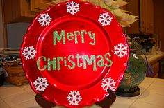 christma gift, cookie gifts, charger plates, ahead holiday, craft ideas, christma charger, christmas gifts