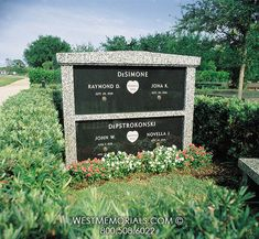This simple mausoleum design is perfect for small families. Discover the gorgeous mahogany and charcoal colors we can create for your own family mausoleum. 2017 Design, Design Development, Beautiful Birds, Floral Arrangements, Hand Carved, Stained Glass, Memories, Monuments, Granite