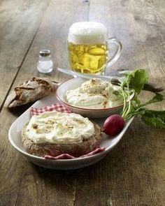Spundekäs auf Vinschgauer Fladen Rezept