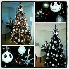 Im determined to have a nightmare before christmas tree♥