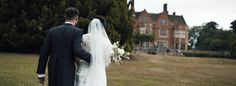 Wedding film Berkshire Marlston House