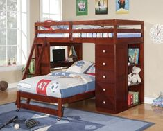 Twin over Twin Modular Loft Bed with Chest and Desk at http://suliaszone.com/twin-over-twin-modular-loft-bed-with-chest-and-desk/