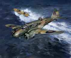 """""""Nice to see an Annie getting some credit for the hard work they did"""" KB Succour At Hand, by Michael Turner (Avro Anson)"""
