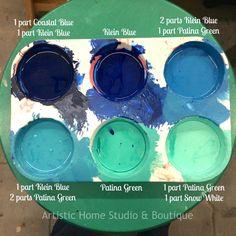 Ainsley room - bookshelves (patina), dresser (klein blue or klein blue/patina mix), desk (klein blue & patina) Chalk Paint Furniture, Furniture Projects, Custom Furniture, Furniture Refinishing, Furniture Design, Chalk Paint Colors, White Chalk Paint, Refurbished Furniture, Furniture Makeover