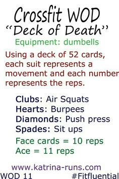 Could sub push ups for push press for at home work out.