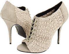 elizabeth and james loni crochet lace up ankle boots