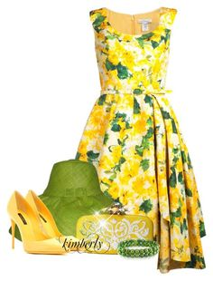 Green and ? 2 by cavell on Polyvore featuring polyvore, fashion, style, Oscar de la Renta, Dolce&Gabbana, Miadora and clothing